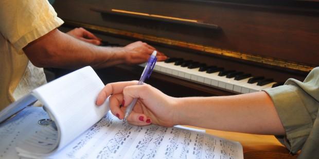 תואר באומנויות תו תווים יד פרטיטורה כיתה