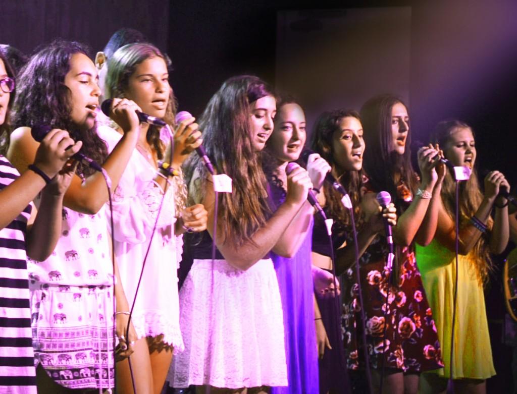 נוער זמרת זמרות מיקרופון שירה במה copy