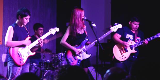 נוער סדנאות מנגנים גיטרה רוק
