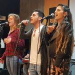 אווירה במה מופע נגנים שרים