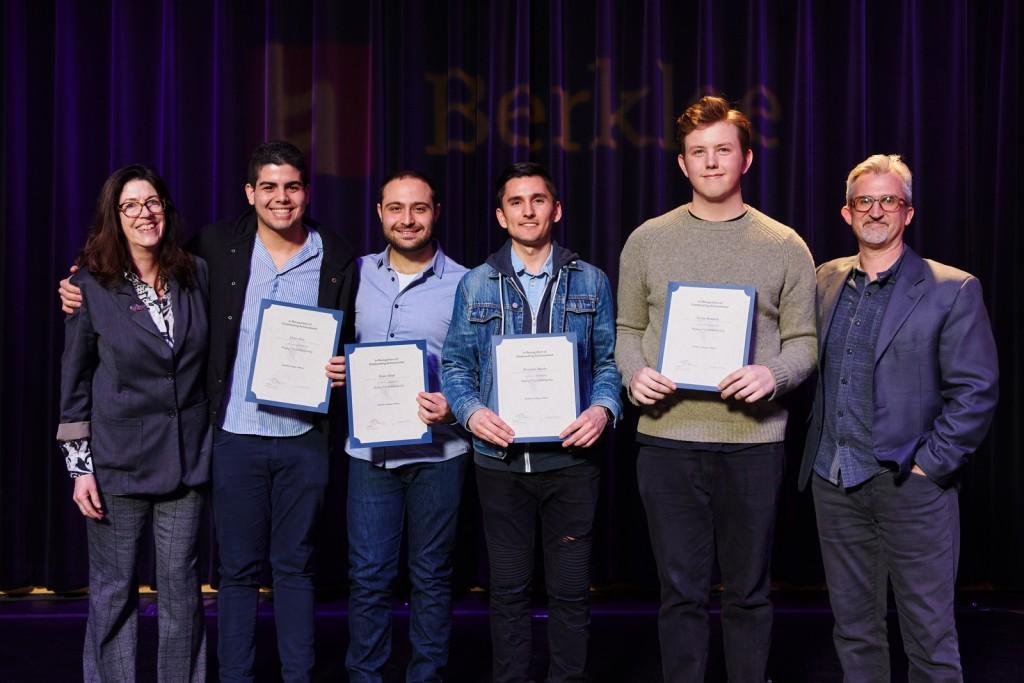 Huang Chen Scholarship Winners