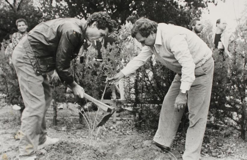יהודה עדר ומשה ורבין 1986